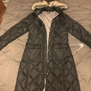 The North Face Long fur hooded coat